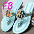 Flip Flopsverkoop fitflop Big Size Eu41 Square Metal Buckle Sequin Decoration Flip Flops Designers Sandals Summer Women Shoes