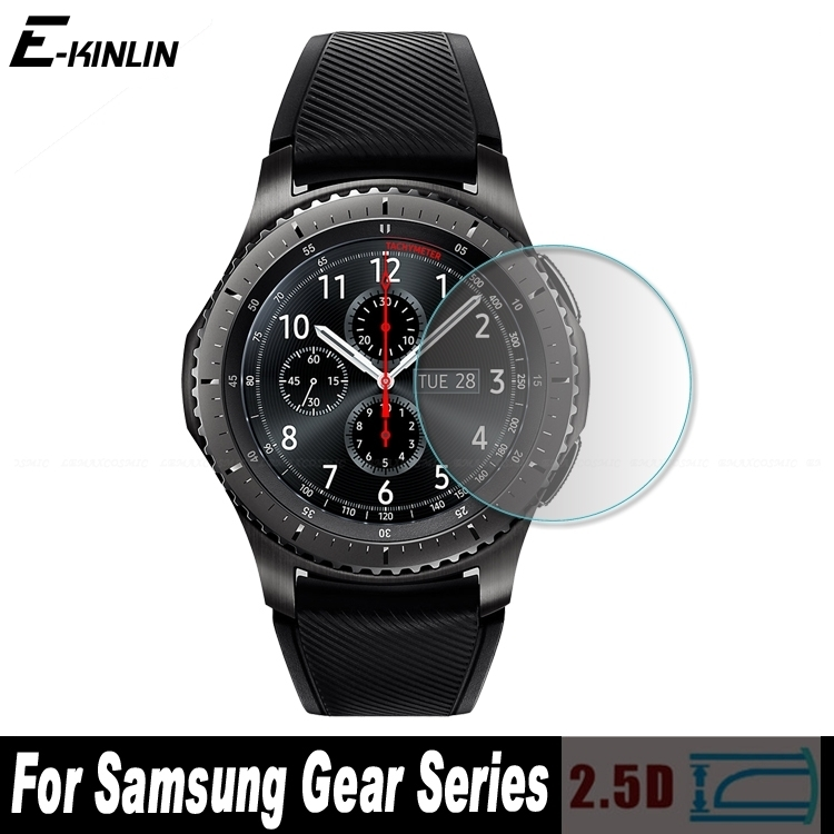 0.3mm Radian 2.5D Tempered Glass For Samsung Gear S3 S2 Classic Frontier LTE 3G 1.2 1.3 inch Screen Protector Film