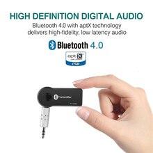 ET Multi-point Wireless Bluetooth Audio Transmitter and Splitter V4.0 aptX Bluetooth Car Kit handsfree call Music Receiver
