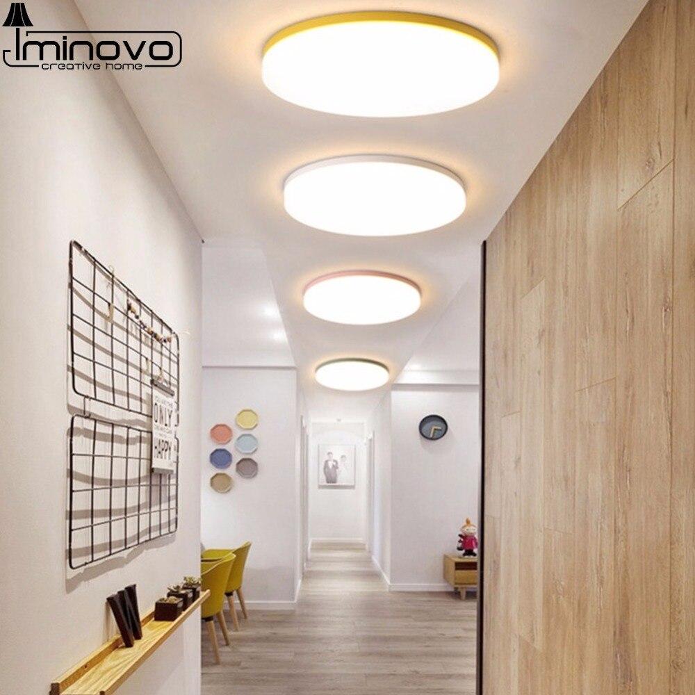 LED Macaron Decke Licht Lampe Moderne Panel Leuchte Schlafzimmer Kinder Fernbedienung Wohnzimmer Halle Oberfläche Montieren Flush Beleuchtung