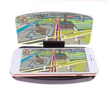 VODOOL Cabeça Up Display HUD Carro Titular Auto Pára Refletor Projetor de Imagem de Navegação GPS Do Telefone Móvel Suporte Do Telefone de Montagem