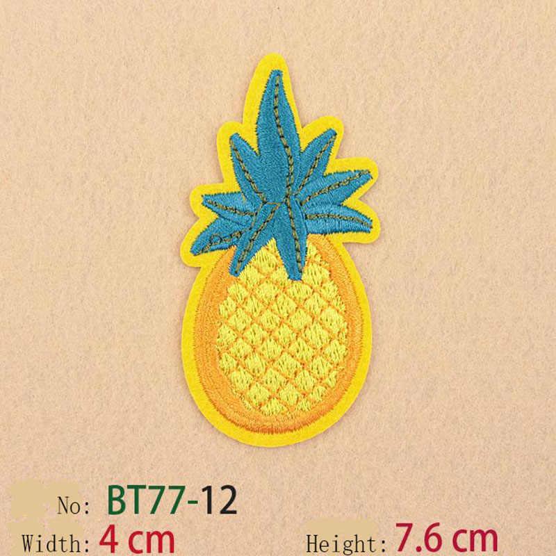 Смешанные расшитые блестками фрукты термонаклейки мороженое кремовые наклейки для сумок для украшения джинсов свитера аппликация 12 шт./партия