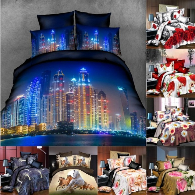 Good Quality Bedding Sets Bed Linen Bedclothes Marilyn Monroe Sheets Duvet Cover Set Pillowcase King Size