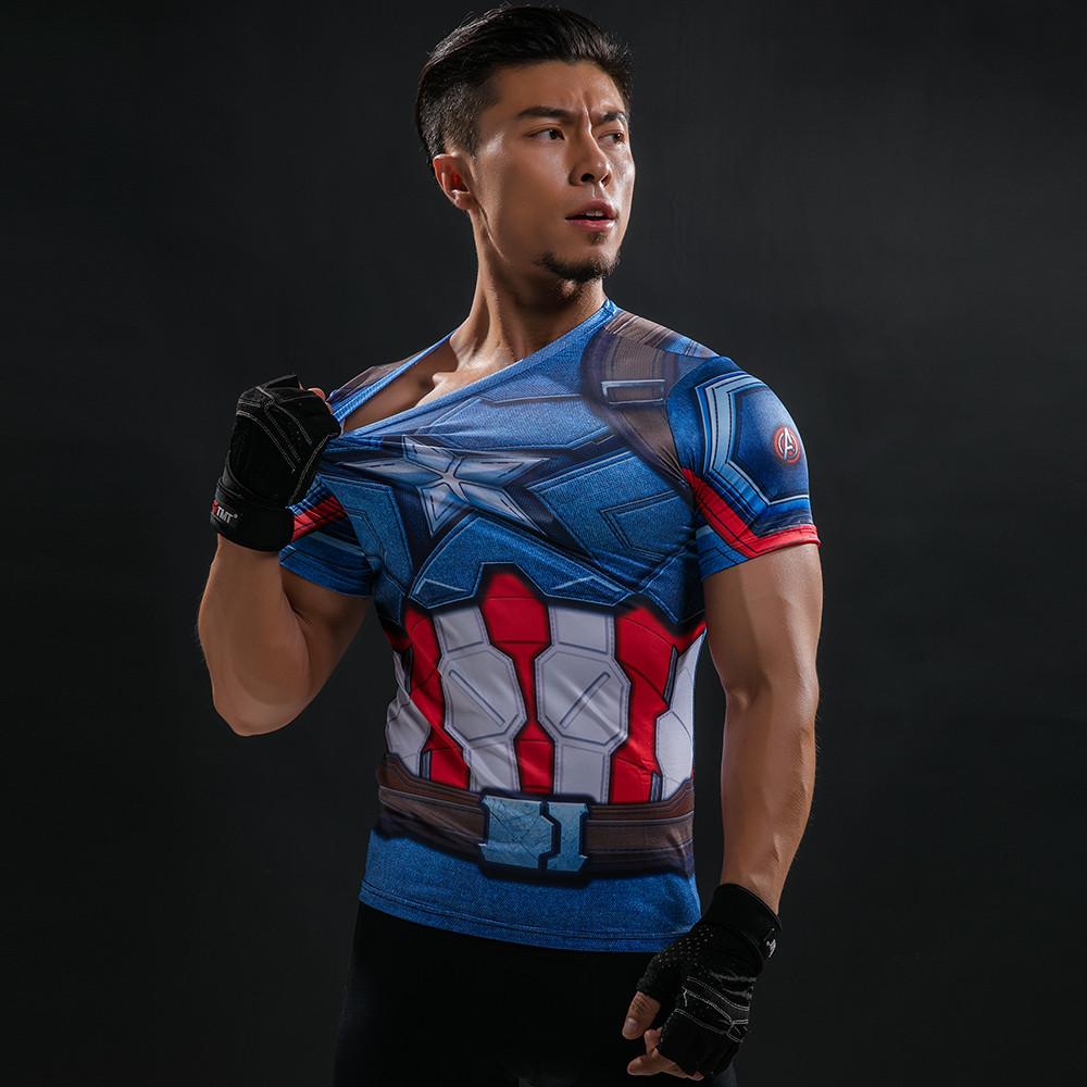 Topdudes.com - New Heroes Compression Shirt