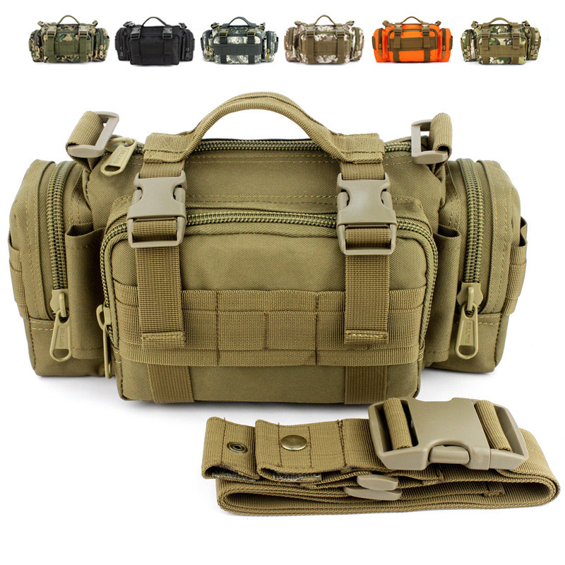 Military Army Shoulder Belt Bum Utility Molle Travel Luggage Tactical Waist Pack