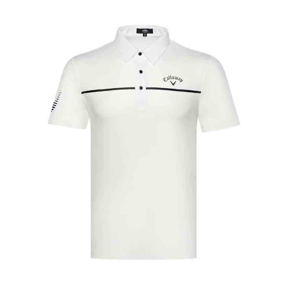 2019 костюм для гольфа мужская Весенняя и летняя футболка с короткими рукавами быстросохнущая дышащая футболка для гольфа одежда для гольфа