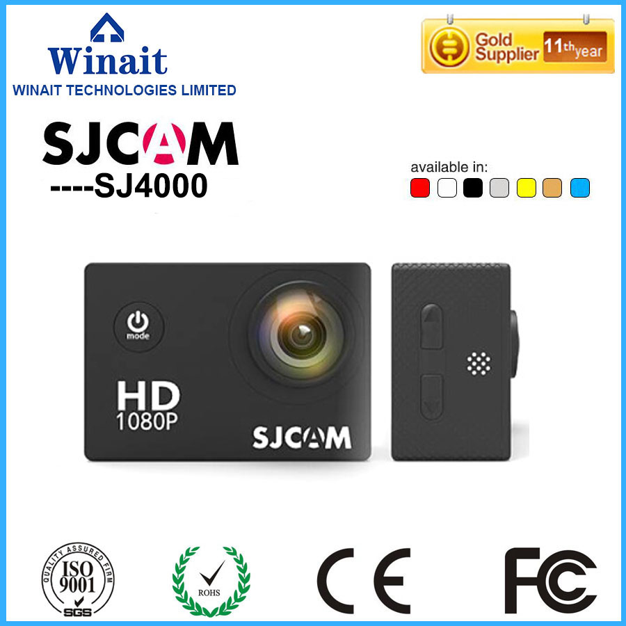 Original SJCAM SJ4000 Acción Deporte Cámara 2.0 pulgadas 1080 P HD Videocámara A