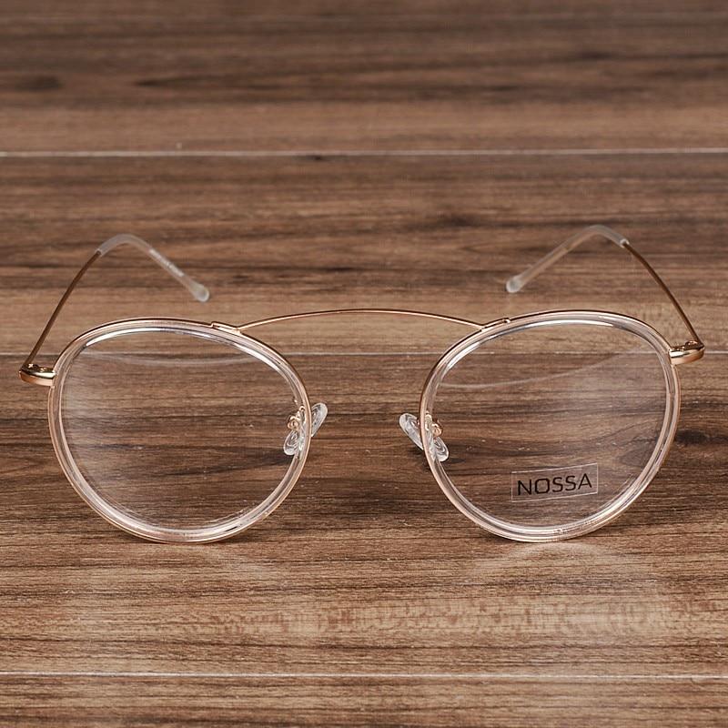 NOSSA elegantās sieviešu un vīriešu apaļās rāmja brilles - Apģērba piederumi - Foto 2