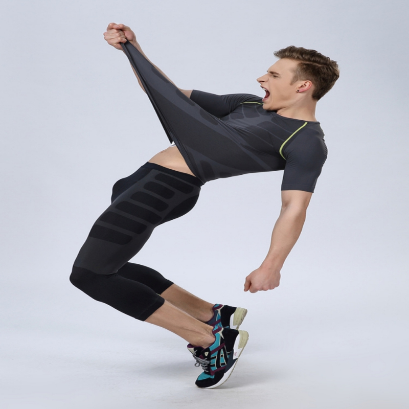 Screaming Retail Price Men Athletic Pants Compression Gym Sports Fitted Base Layers Skin Tights