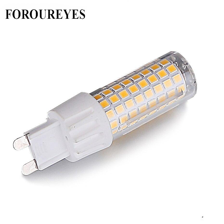 G9 LED Lamp AC220V 100LEDS 2835SMD 7W Light Bulb 700LM super bright Chandelier LED Light replace 80W Halogen Lamp