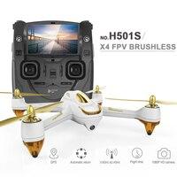 Originale h501s hubsan x4 5.8g fpv rc drone con 1080 p hd macchina fotografica RC Quadcopter con il GPS Follow Me Modalità CF Ritorno Automatico