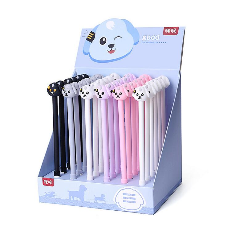 6pcs/lot Cute Good Dog Gel Pen Promotional Gift Stationery School & Office Supply