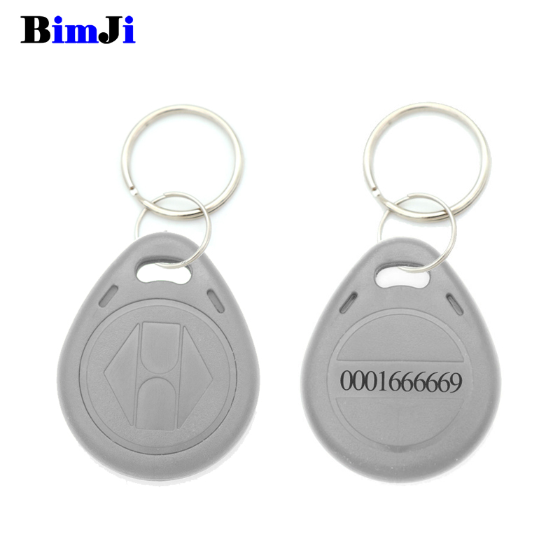 Image 3 - 100pcs Rfid Tag 125Khz TK4100 EM4100 Proximity RFID Card Keyfobs Access Control Smart Card 10 Colors Free Shipping-in IC/ID Card from Security & Protection