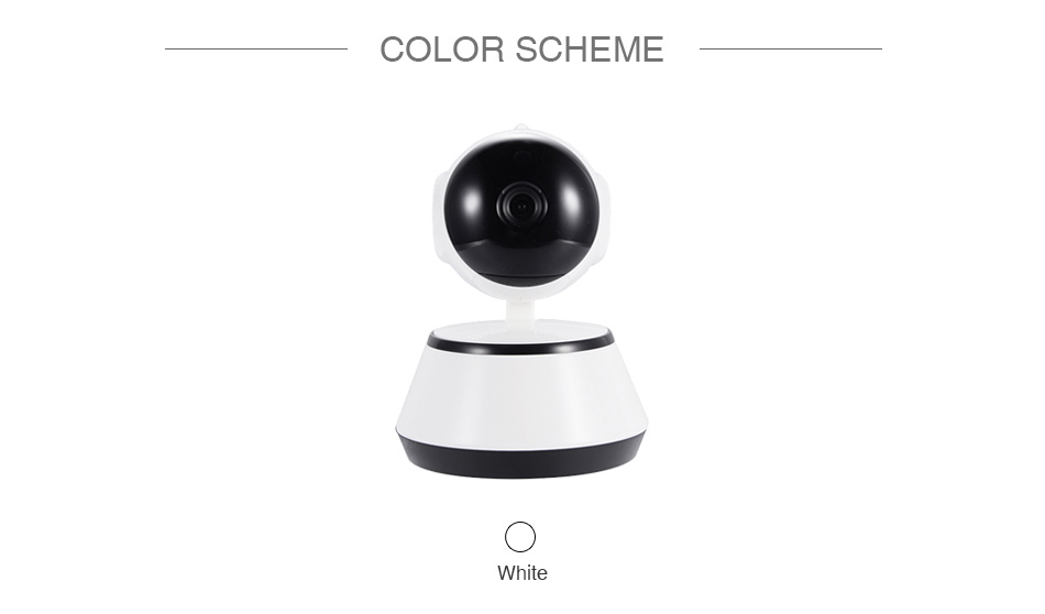 96336ca626f0fb La caméra Smart Net WIFI V380 est idéale pour permettre aux parents de  surveiller leurs enfants lorsqu ils sont absents. Il peut également vous  aider à ...