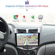 Multimedia Player for Hyundai Solaris Verna Accent i25 GPS Navigation