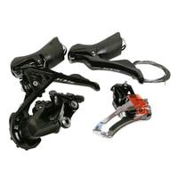 SHIMANO 105 R7000 Kit Groupset shimano R7000 2*11 Speed Derailleurs ROAD Bicycle Front Derailleur + Rear Derailleur + Shifter