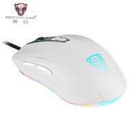 Official Sale Motospeed V60 5000 DPI Wired Gaming Mouse 7 Keys Rato com fio Computer Peripherals