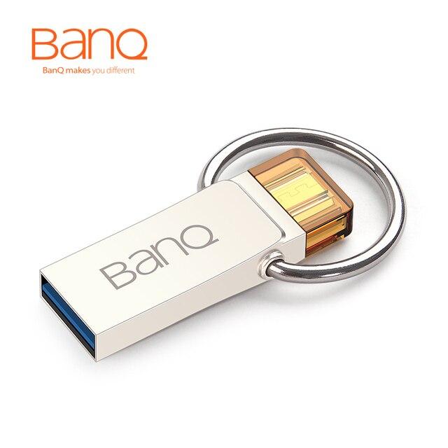 BanQ T90 OTG USB 3.0 100% 64 ГБ Смартфон Tablet PC USB Флэш-Накопители OTG Внешнее Запоминающее Микро 64 Г Ручка Привода Памяти Stick