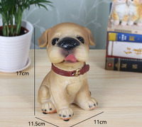 Living room wine cabinet decorative ornaments crafts small cute simulation control called dog home furnishings