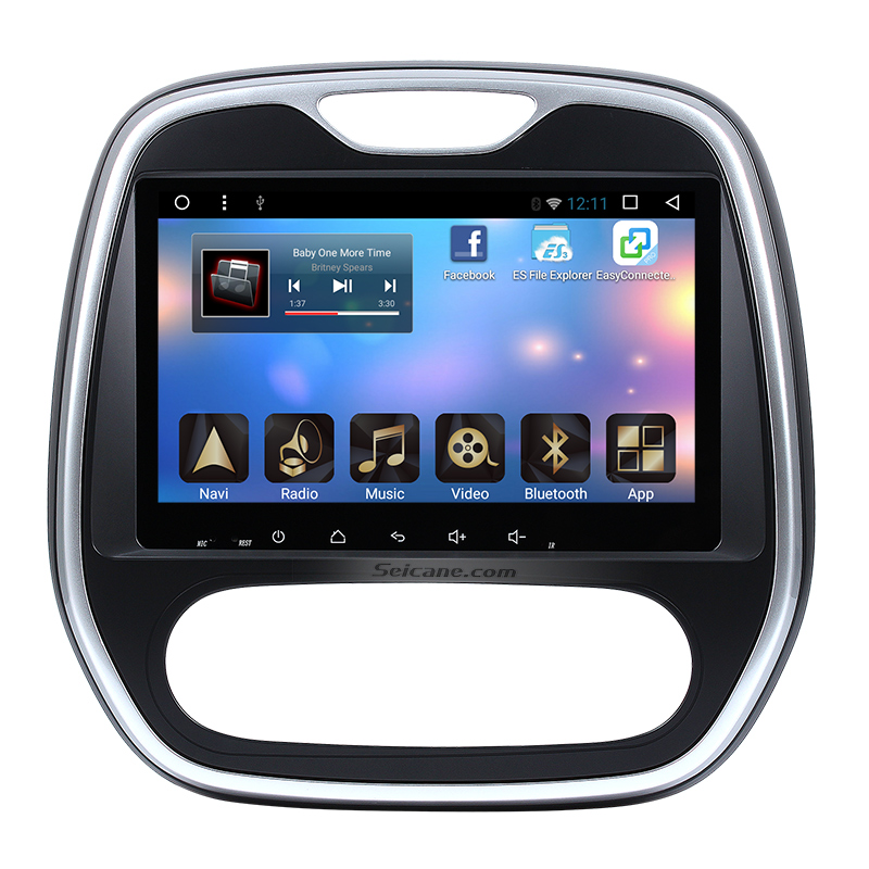 android 6 0 for 2014 2015 renault captur duster radio gps navigation system with manual air. Black Bedroom Furniture Sets. Home Design Ideas