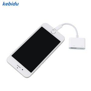 Kebidu Converter Adapter-Cable Lighting Audio-Video-Adapter iPad iPhone 3-In-1 HDMI