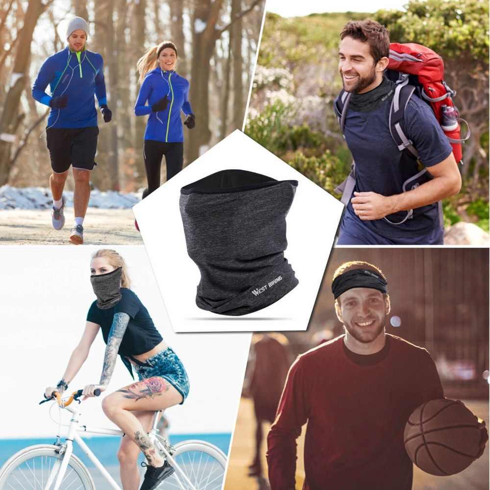 West biking летняя велосипедная маска для лица-пот дышащие велосипедные шапочки для бега велосипеда бандана спортивный шарф-Маска на лицо для мужчин и женщин