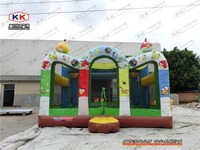 Colorful Inflatable Bouncer For Kids PVC New Design Jumping Trampoline Bouncer House