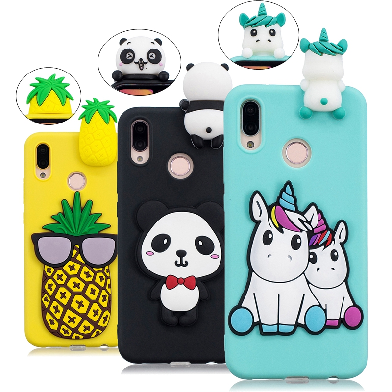 in vendita bee85 ae40e US $3.03 31% OFF|Huawei P20 Lite Case Mate 10 Lite Cover Unicorn Panda  Silicone Phone Case on for Huawei P20 Pro P10 P9 Lite Mate10 P20 Case  Etui-in ...
