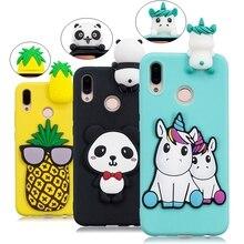 Huawei P20 Lite Case Mate 10 Lite Cover Unicorn Panda Silicone Phone C