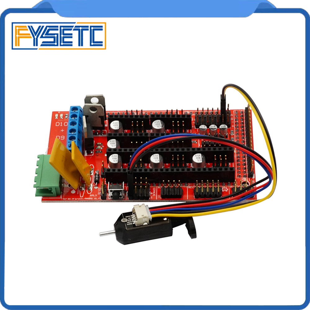 1 Set 3D Printer z-probe TOUCH Auto Leveling Sensor 3D printer z-probe Touch With RAMPS 1.4 3D Printer Controller Panel
