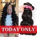 Queen hair onda del cuerpo peruano 4 paquetes peruana virgin hair bundle ofertas 10a grado vírgenes paquetes de pelo humano cheveux bresilien