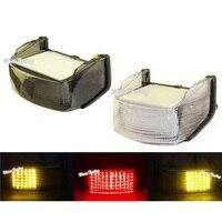 waase For Honda CBR600F2 CBR 600 F2 1991 1992 1993 1994 E Marked Rear Tail Light Brake Turn Signals Integrated LED Light