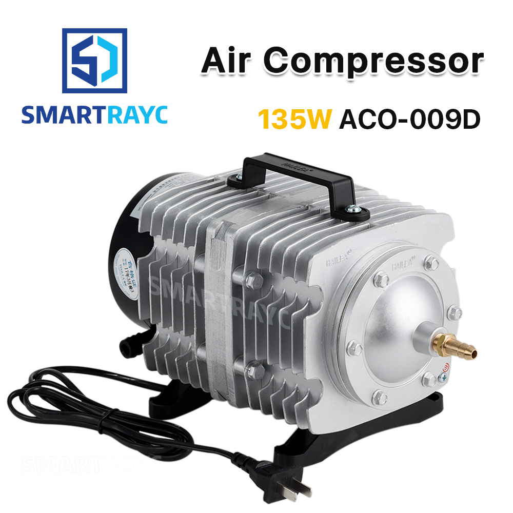 Smartrayc 135W Air Compressor Electrical Magnetic Air Pump for CO2 Laser Engraving Cutting Machine ACO 009D