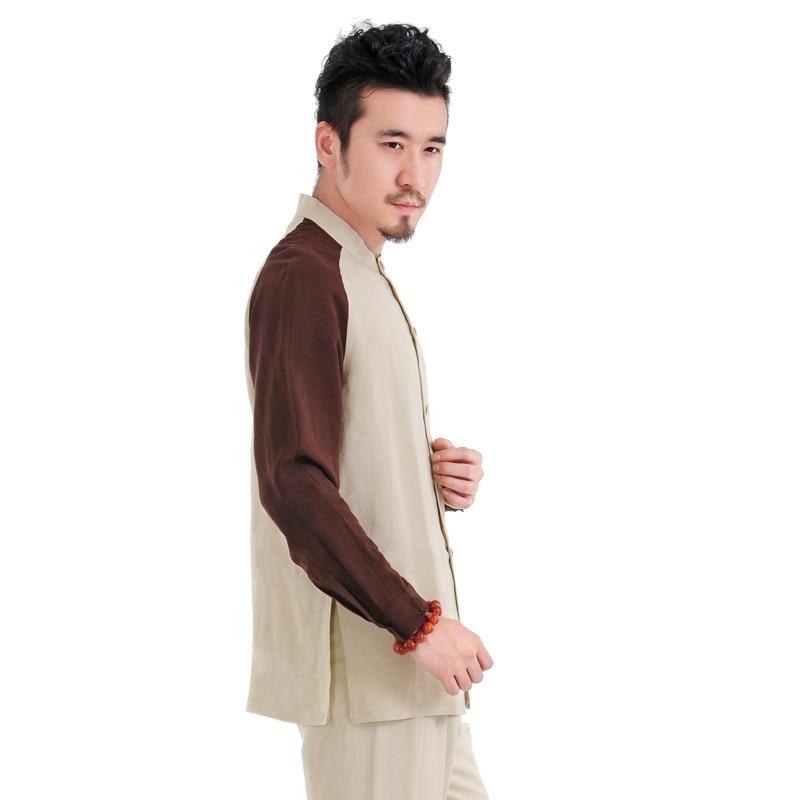 UNISEX Wudang LINEN Uniforms Tai Chi Hanfu Martial Arts Clothing Sets Taoist Taoism Suits Kovos Meno Rinkiniai