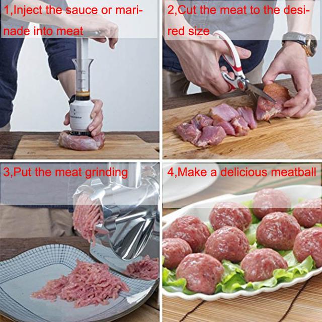 1 piece multifunctional meat tenderizer needle