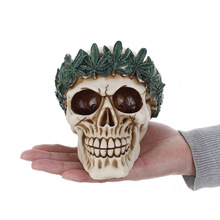 MRZOOT Resin Craft Home Decorations Skeleton Skull Model Punk Style Decoration Personalized Ornaments Halloween Gift
