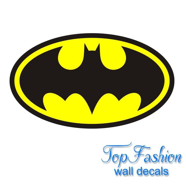 Huge Batman Logo Decal Repositionable Wall Sticker Vinyl Home