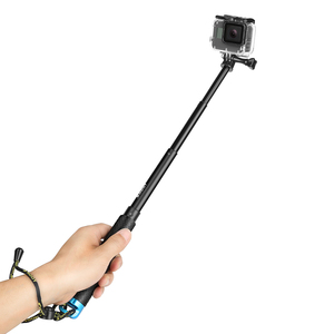 Image 5 - تبادل لاطلاق النار المحمولة Selfie عصا تمديد Monopod ل GoPro 9 8 7 5 الأسود شاومي يي 4K Sjcam M10 Sj8 Eken H9 كاميرا الذهاب برو ملحق