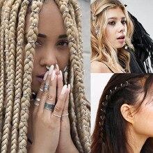 Haimeikang New 5-10pcs/set Women hair accessories Pendant Ch