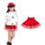 Chica de primavera ropa de los nuevos niños del bebé Una palabra falda otoño de los niños mini falda de color puro falda para la muchacha 3-15 niñas faldas