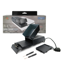 New Data Bank Game Accessory External 3.5 Hard Drive Storage For PlayStation 4 PS4