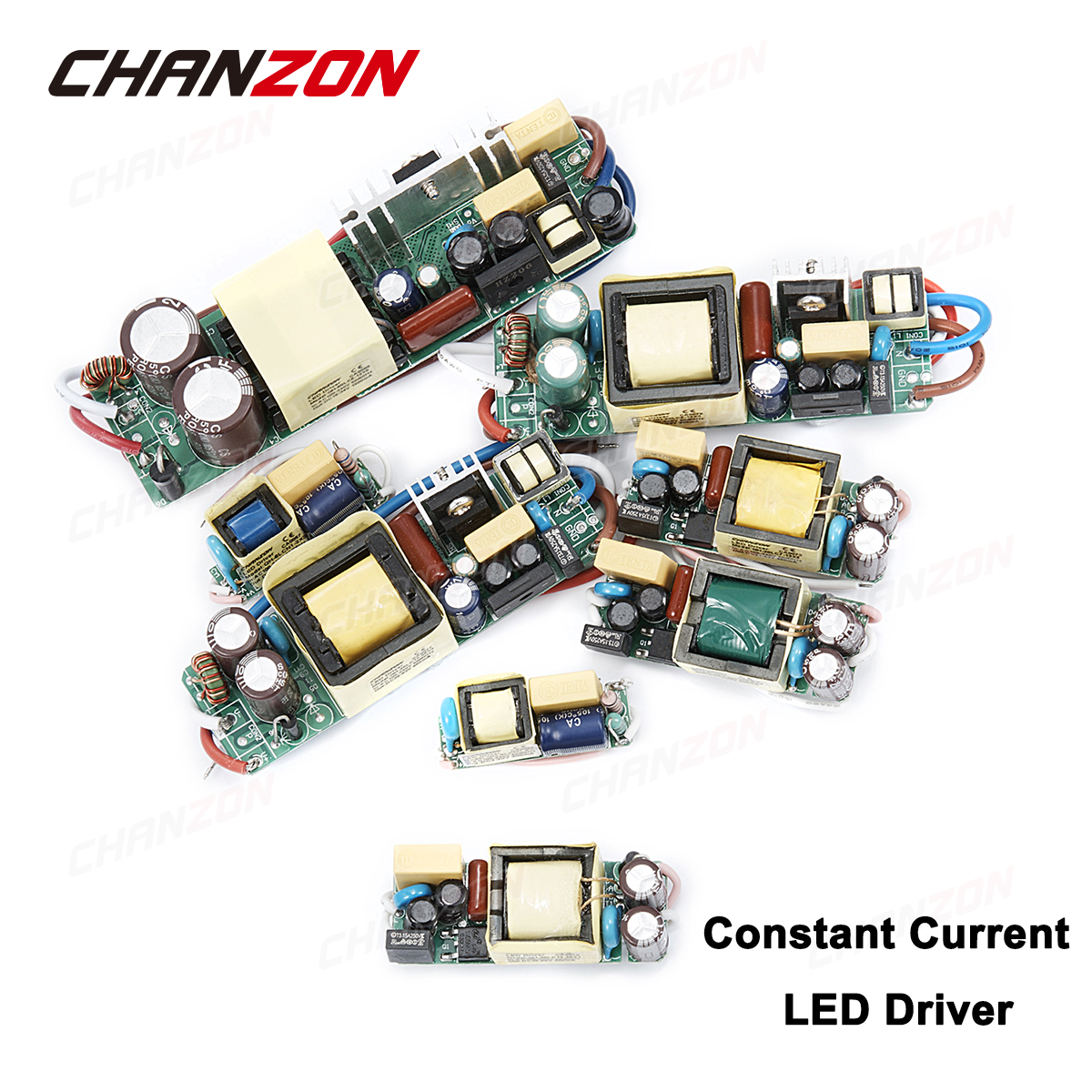 Constant Current LED Driver 1W 3W 5W 10W 20W 30W 50W 300mA 450mA 600mA 900mA 1500mA AC DC Isolation Lighting Transformer