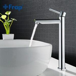 Image 2 - Frap robinet de lavabo de grande taille pour la salle de bains robinetterie mince pour leau chaude et froide du lavabo robinetterie simple pour la salle de bains Y10122/23