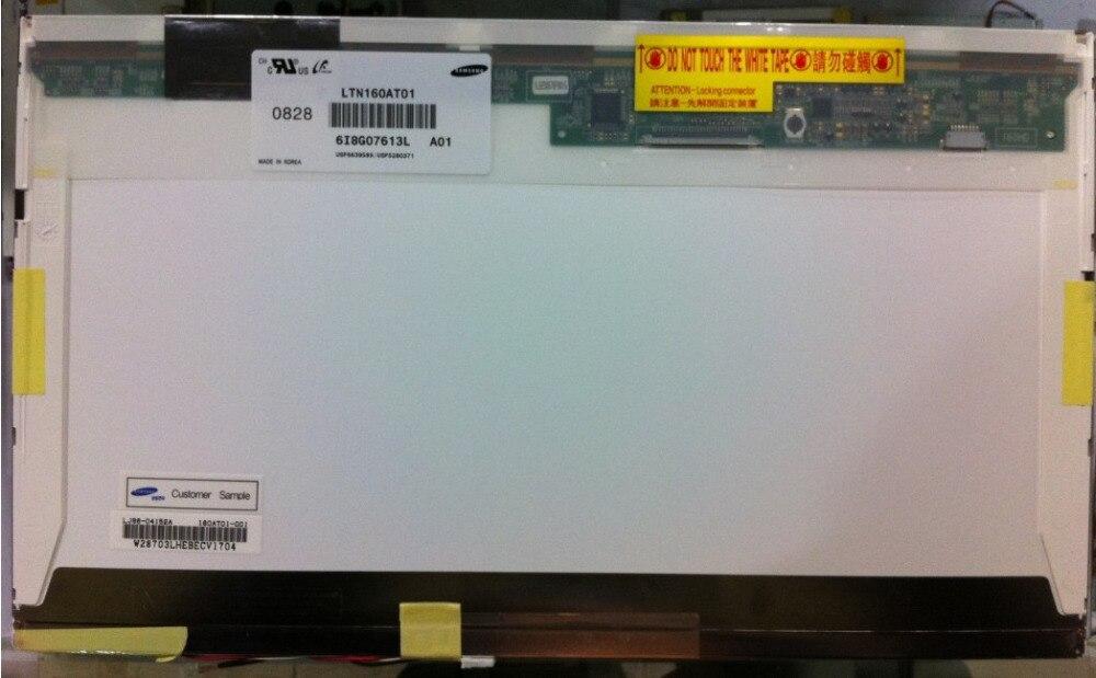 LCD Screen LTN160AT01 LTN160AT02 For ACER Aspire 6930G 6920 6935 6935G For HP CQ60 For Toshiba AX/53HPK display screen  new 16 laptop ccfl lcd screen display matrix panel ltn160at01 ltn160at02 for acer aspire 6920 6920g 6530 6930 6930g 6935 6935g