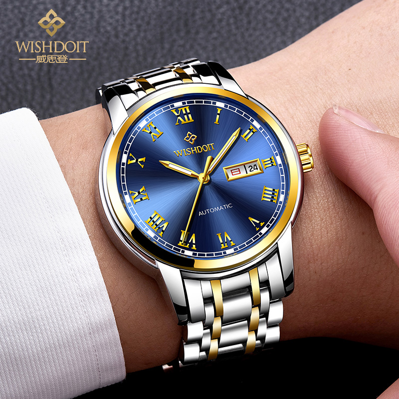 2018 Mens Watches Top Brand Luxury Fashion Gold Watch Business Mens Automatic Mechanical Watch Sports /Week Man Wristwatches  2018 Mens Watches Top Brand Luxury Fashion Gold Watch Business Mens Automatic Mechanical Watch Sports /Week Man Wristwatches