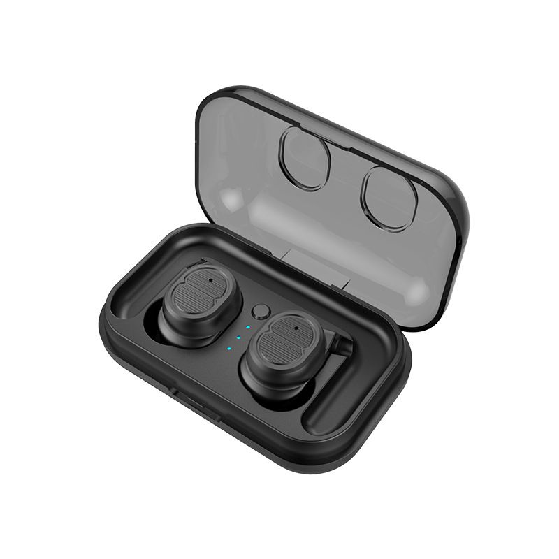 TWS Bluetooth Headphones 4.2 with Charging Compartment Wireless Single Ear Touch In-ear Dual Microphone Bluetooth Headset
