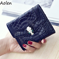 Aolen wallets female 2017 luxury brand wallets women genuine leather ladies purses and handbags crossbody coin purse case