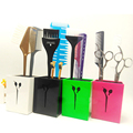 Fashion And Professional Salon Hair Tool Case Scissor Holder In Good Design ABS Environment Hair Comb Case Holder M-9909