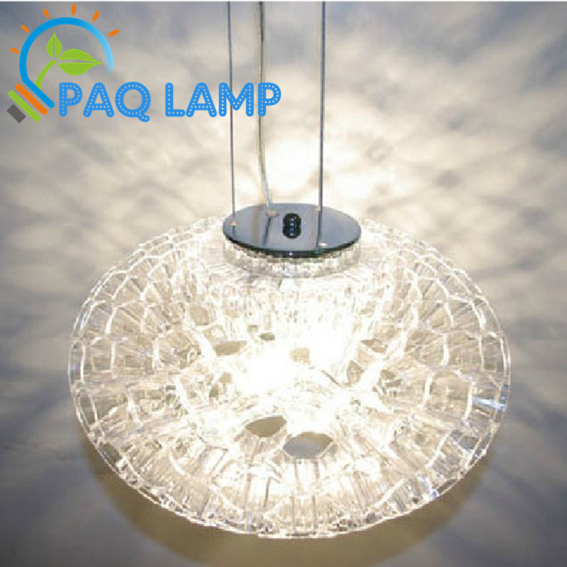 Modern chandelier lamps indoor lighting diameter 35cm acrylic craft lights honeycomb shape LED light fixture tian rui acrylic craft
