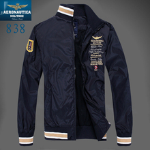 Aeronautica military Air Force One jacket jaqueta,mens causal brand Embroidery business jacket,bomber jacket polo Jackets mens Z